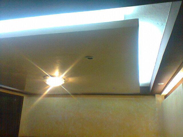 Galer as de fotos acabados plafones y tablaroca for Plafones decorativos pared